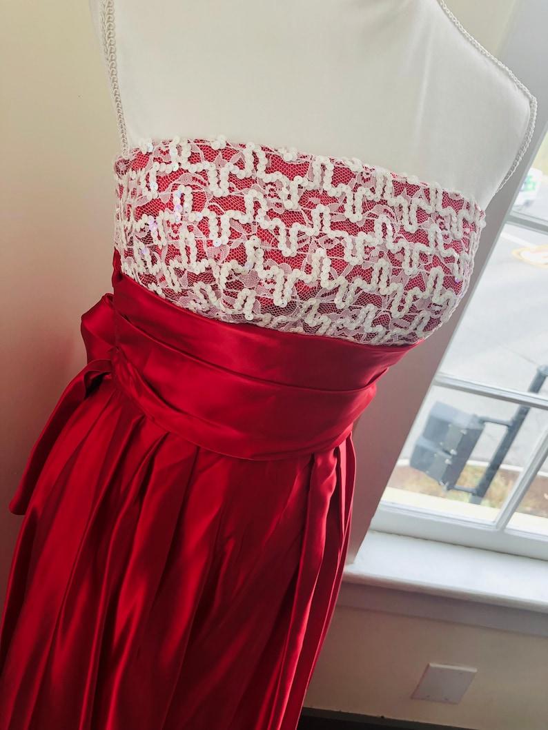 Vintage 1970s Sequin Formal Dress Vintage 1970s Union Made Prom or Holiday Formal Dress Vintage Size 5