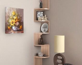 Corner Wall Shelf Etsy