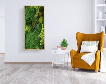 Moss Wall Art —Preserved moss  — Nature Art —Moss wall