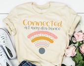 Teacher Shirt - Technology Teacher Shirt - Connected at Any Distance - Teacher Tee - Zoom Teaching - Teacher Gift