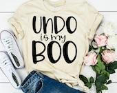 Teacher Shirt - Technology Teacher T-Shirt - Undo Is My Boo - Graphic Tee