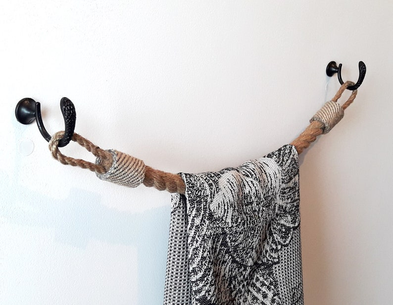 Handtuchhalter Jute Seil Rustikale Dekor