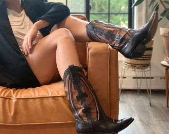 western cowboy boot sold individually 50mm x 52mm