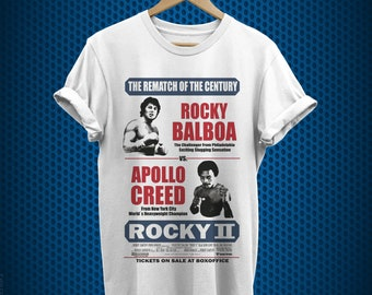 Rocky 1970/'s Sports Boxing Movie Vintage Style Movie Poster Juniors T-Shirt