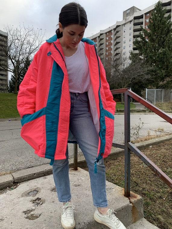 Vintage 1990s Neon Ski Jacket