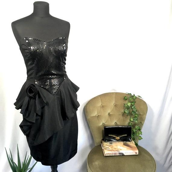1980s party dress 1980s little black dress 1980s s