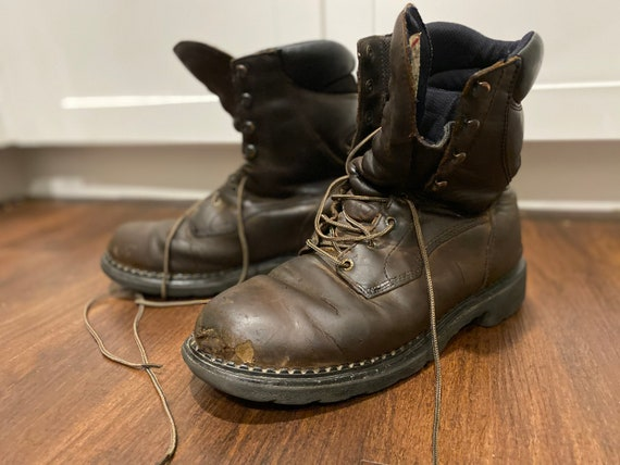 Red Wing Work Boots. Leather. 11.5 Men's