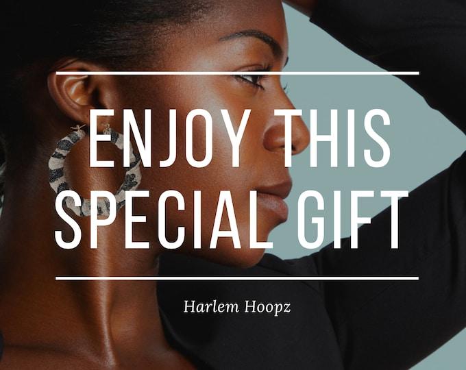 Harlem Hoopz Gift Certificate