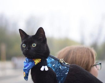 Casual Harness 4Cats - Midnight Collection