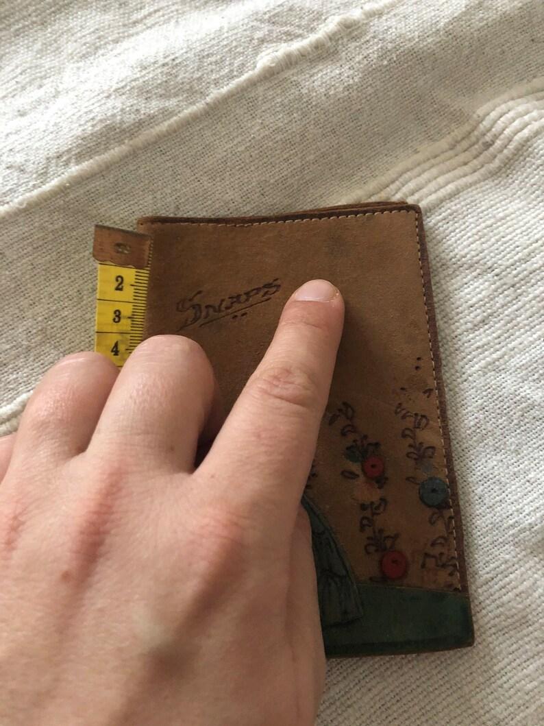 Vintage Id holder