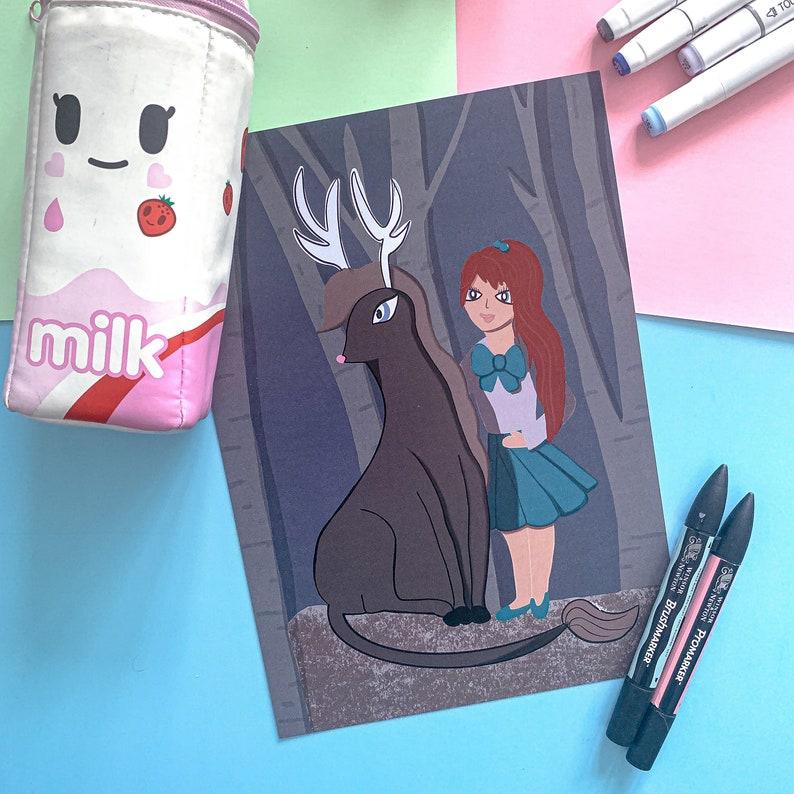 Fantasy illustrated art image 0