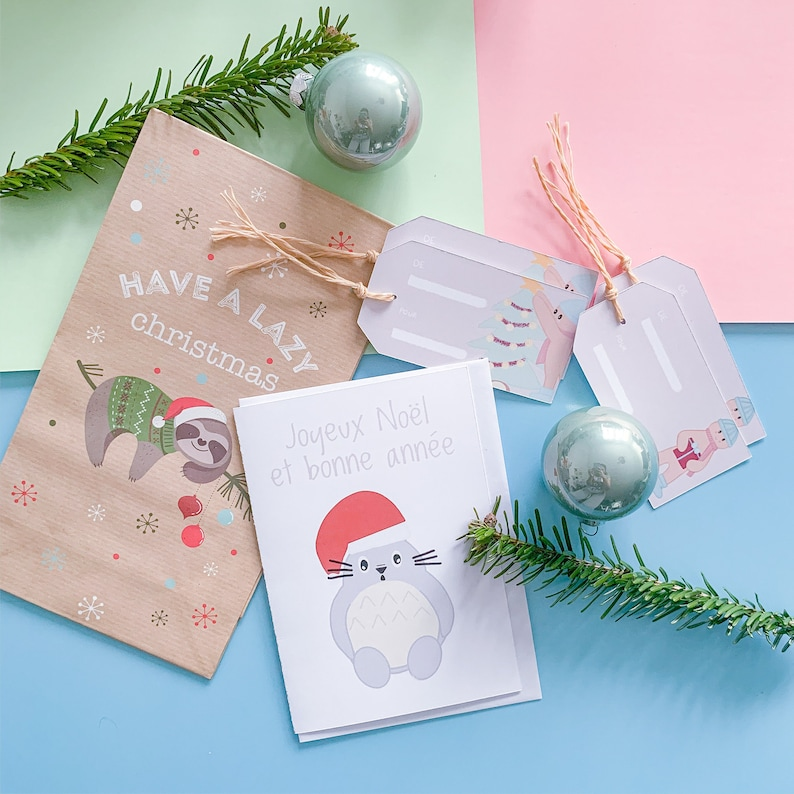Merry Christmas Totoro Card image 0