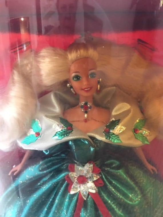 Happy Holidays Special Edition 1995 Barbie Doll 14123