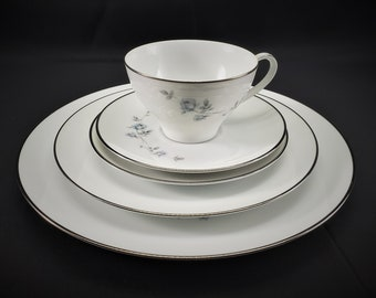 """6 5//8/"""" Lugged Cereal Bowls Noritake Nicolette # 6713 Set of 4 four"""