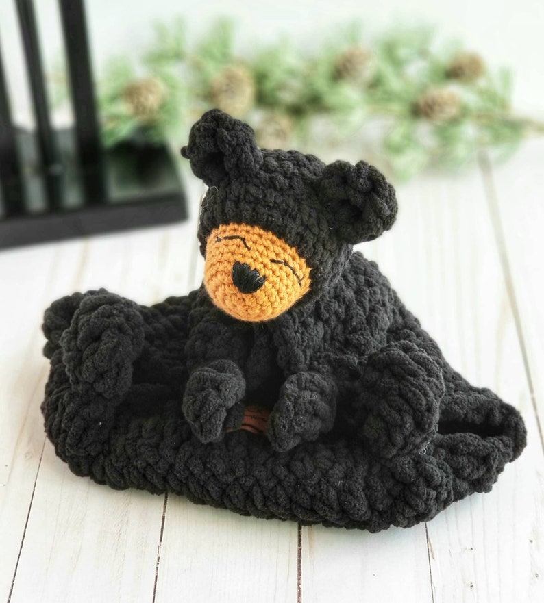 Bear lovey Baby lovey Childs lovey image 0