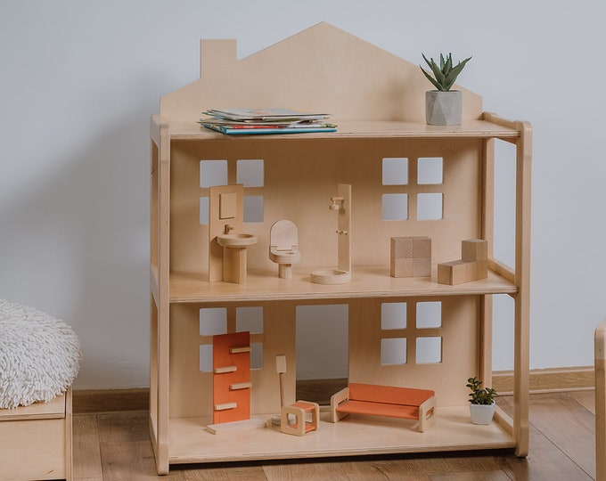 Doll house Book shelf KIKI from Woodjoy