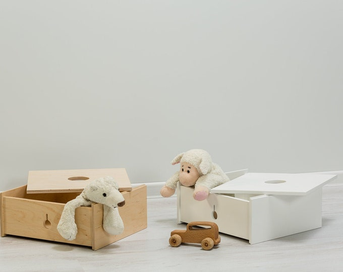 Multifunctional middle box, Montessori based, Toy box