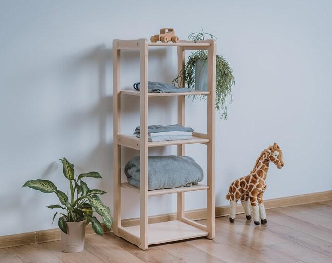 Montessori based Woodjoy shelf MAXI