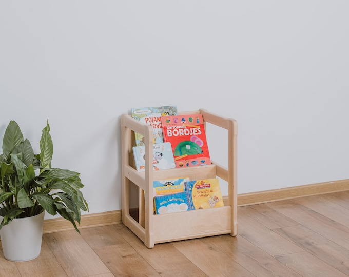 Montessori bookshelf SMALL