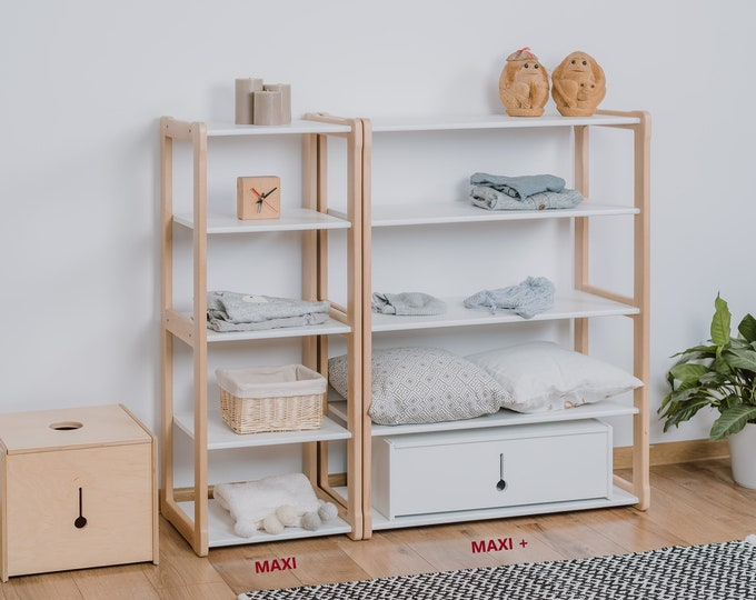 Montessori MAXI + shelf
