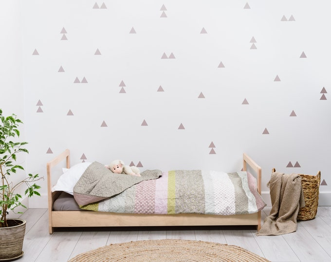 Montessori floor bed without slats