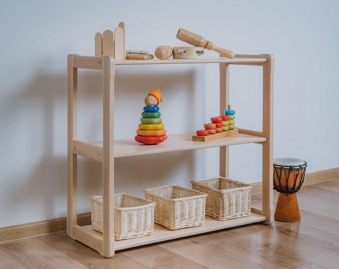 Montessori based Woodjoy shelf MIDI