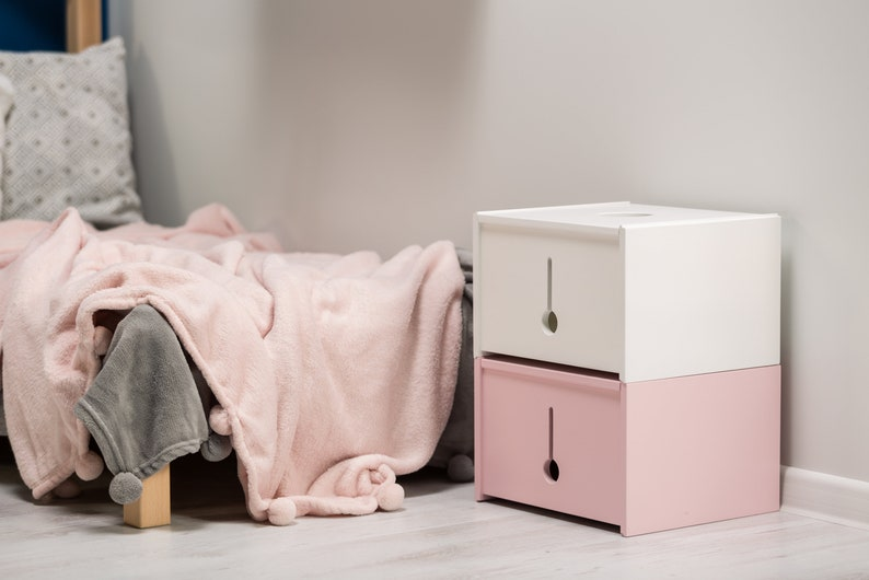 Multifunctional small toy box image 0