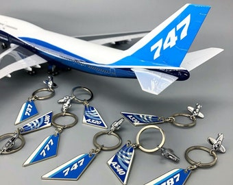 Metal Keychain Keel, Key Ring Tailfin Airplane, Boeing, Airbus, Trinket, Plane, Aircraft, Aviation, Best Gift, Keyrings, Keychain With Plane
