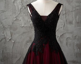 Black Red Dress,red and black dress,