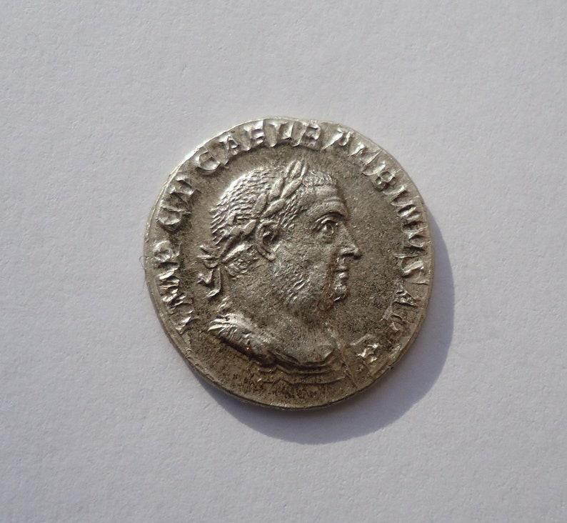 Roman Denarius Reproduction Roman Silver Coin Rare Roman Silver Coin,Balbinus Coin