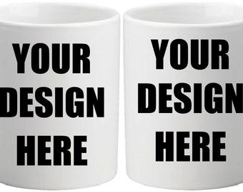 CUSTOMIZED Coffee Mug | Personalize your coffee mug | 11 ounces | White coffee mug
