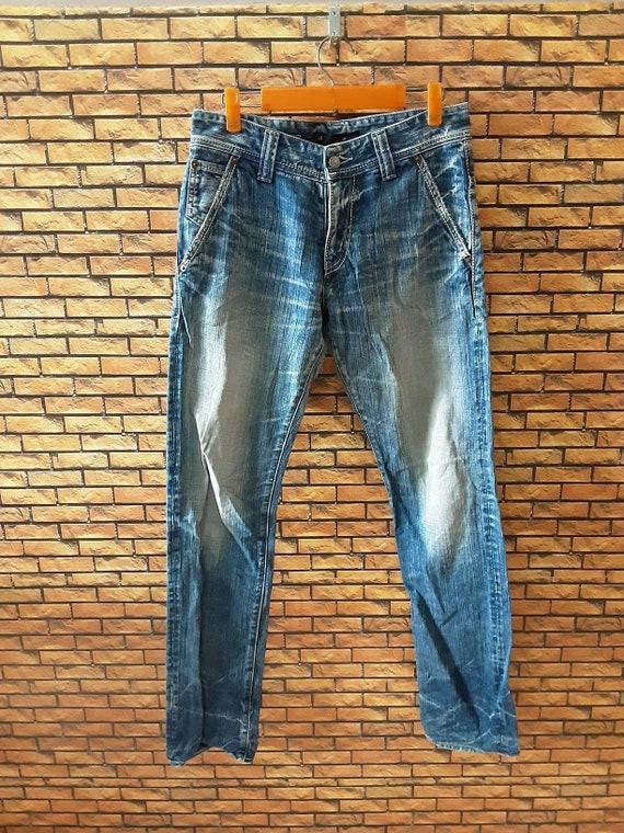 Men's Vintage JOHNBULL Jeans 31x31.5 Made in Japan