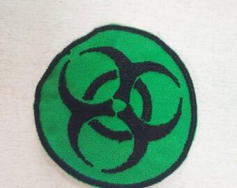 "Various Designs Toxic Novelty BIOHAZARD SYMBOL - 1/"" // 25mm Button Badge"