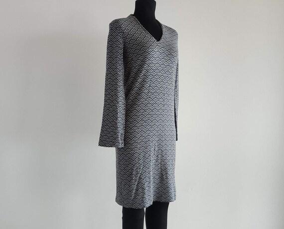 Grune Erde Cotton Dress, Rainbow Pattern, Dresses