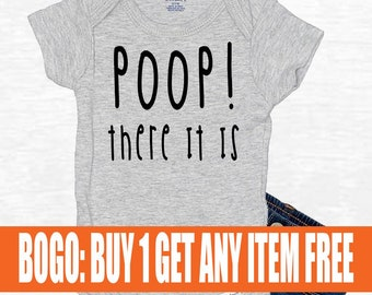 Cool Onesies Funny Onesies Rap Parody Onesie Rap Baby Gift Cute Onesies 90/'s Baby Gift BOGO SALE Funny Baby Clothes Poop There It Is