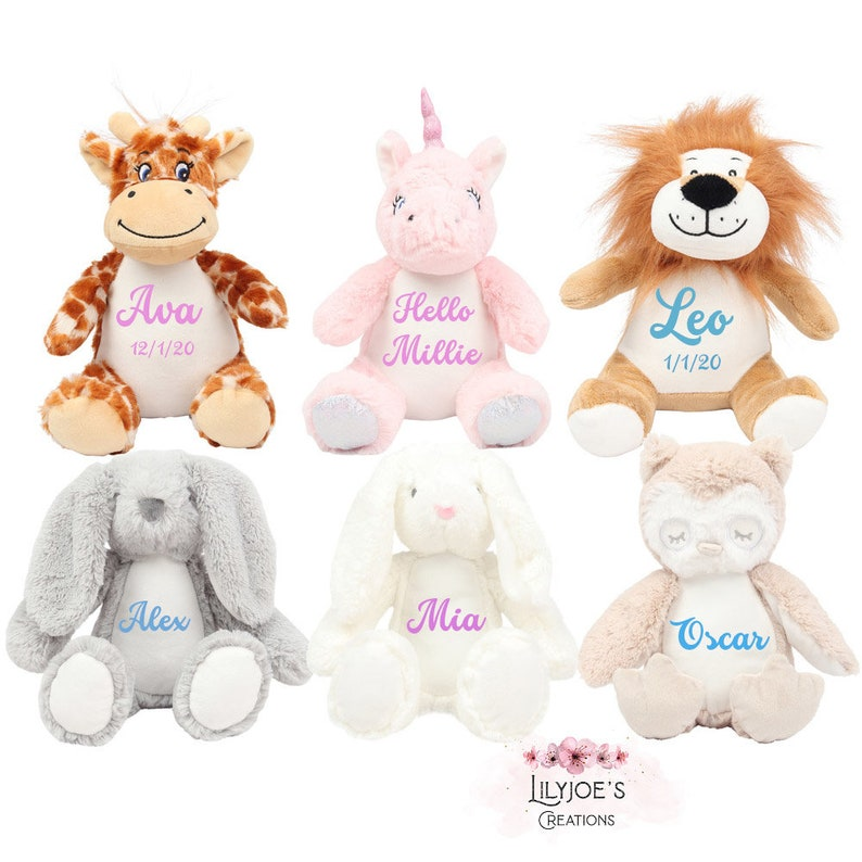 Personalized Teddy Soft Plush Toy