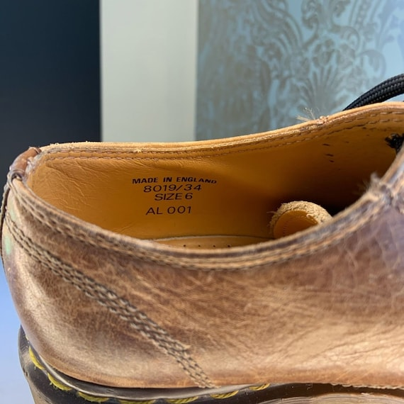 Dr. Martens Vintage 8019/34 Leather Oxford Shoes - image 7