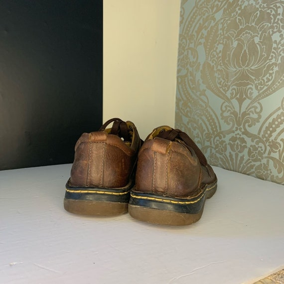 Dr. Martens Mens Brown Leather Oxford Shoes - image 7
