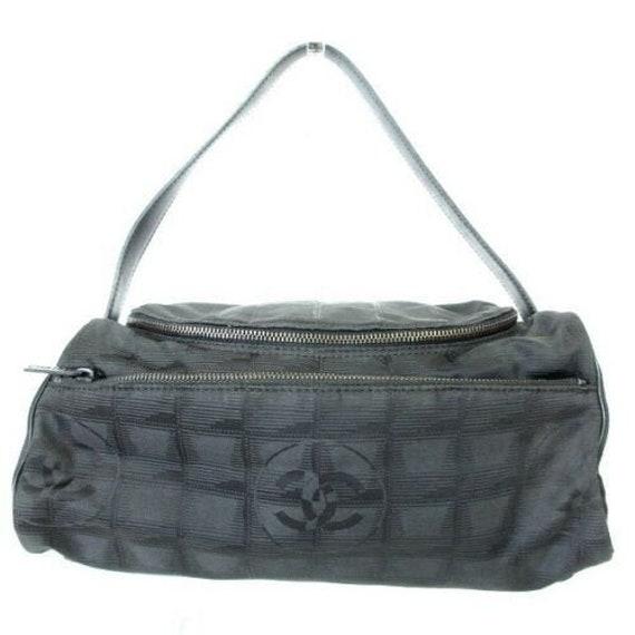 AUTHENTIC CHANEL travel bag Vanity bag Hand Bag Ny