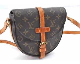 Authentic Louis Vuitton Crossbody Bag Vintage Louis Vuitton Shoulder Bag Genuine  LV Bag #M92646