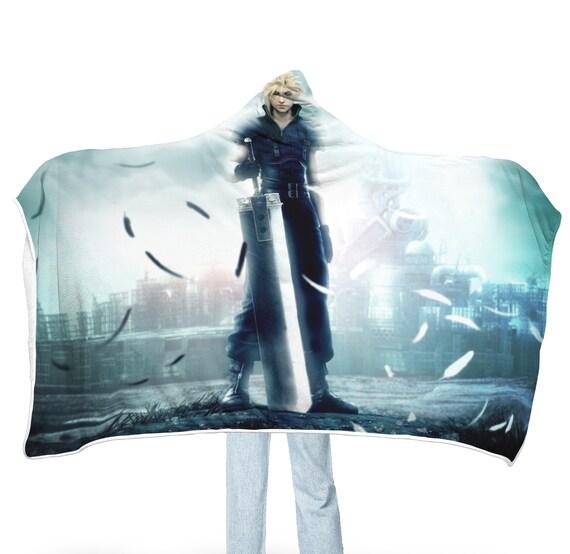 Final Fantasy 7 Hooded Blanket Final Fantasy Vii Advent Children Blanket