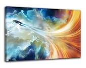 Star Trek Canvas Wall Art Enterprise Canvas Painting Wall Decor Canvas Print Gift Poster Artwork