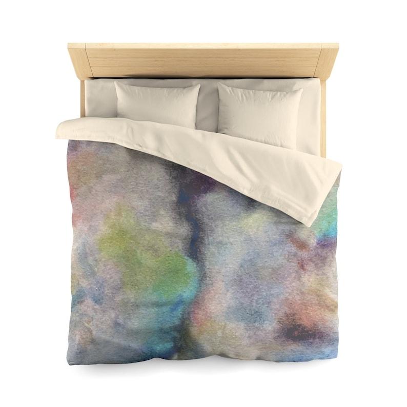 Duvet Cover Nebula I    Microfiber Duvet Cover Duvet Bedding Duvet Bedroom Duvet Covers Bedroom Decor