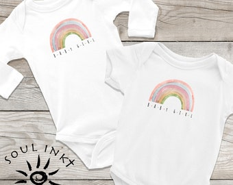 Rainbow Baby Girl Onesie | Rainbow Baby Girl Outfit | Baby Gift | Baby Girl | Baby Boy | Baby Shower Gift | Gift For New Mom | Baby Gift