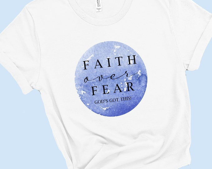 Faith Over Fear - Women's Short Sleeve Tee