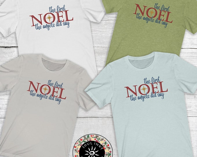 The First Noel Short Sleeve Tee