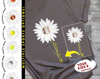 Mom Team Sports | Baseball Shirt | Basketball Shirt | Football Shirt | Tennis Shirt | Soccer Shirt | Softball Shirt | Volleyball Shirt