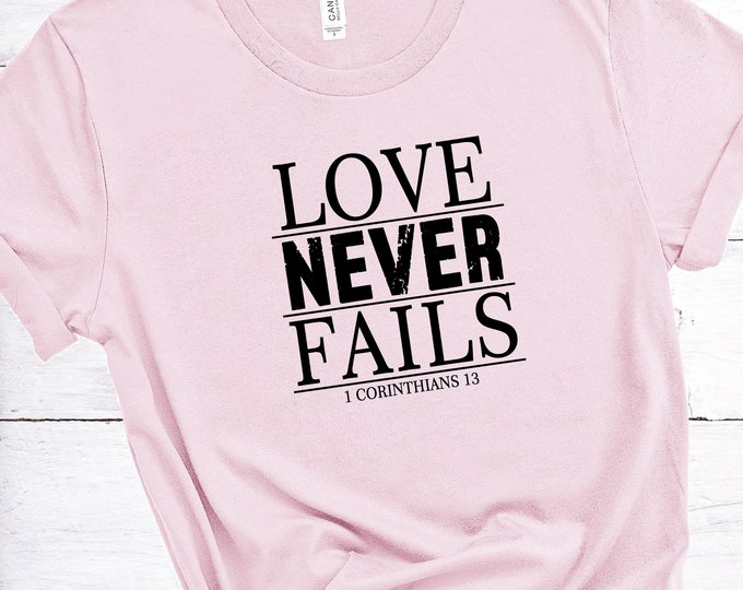Love Never Fails - 1 Corinthians 13