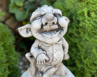 CONCRETE TROLL STATUE For Homes And Gardens