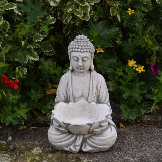 Concrete Buddha With Belly Buddha Large Buddha Statue Budai Etsy